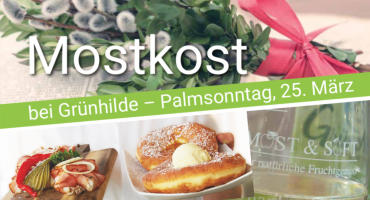 Eröffnung Mostheurigen-Saison am Palmsonntag