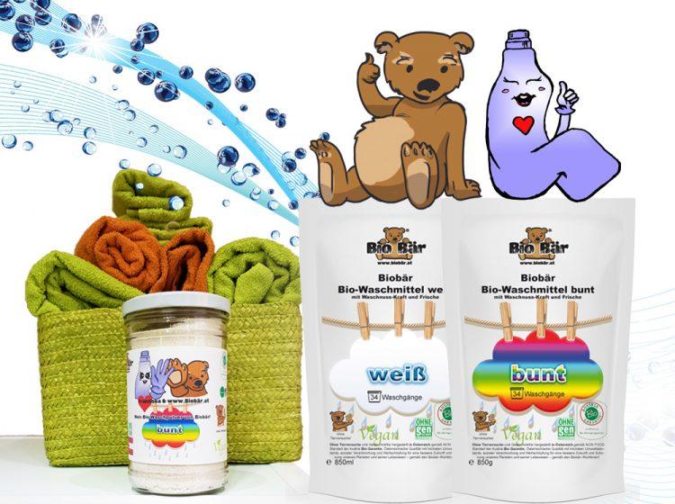 Neu bei Grünhilde: Bio Wasch- und Reinigungsmittel