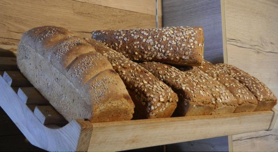 Brot, das bekommt.