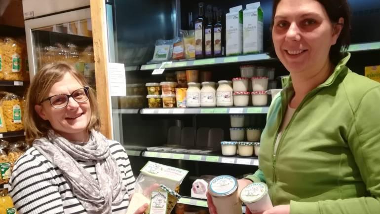 Neue Schafmilch Produkte von Marianne Ebenhofer