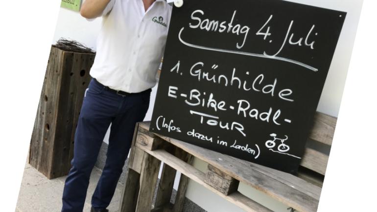 1. Grünhilde E-Bike Radltour am 4. Juli 2020