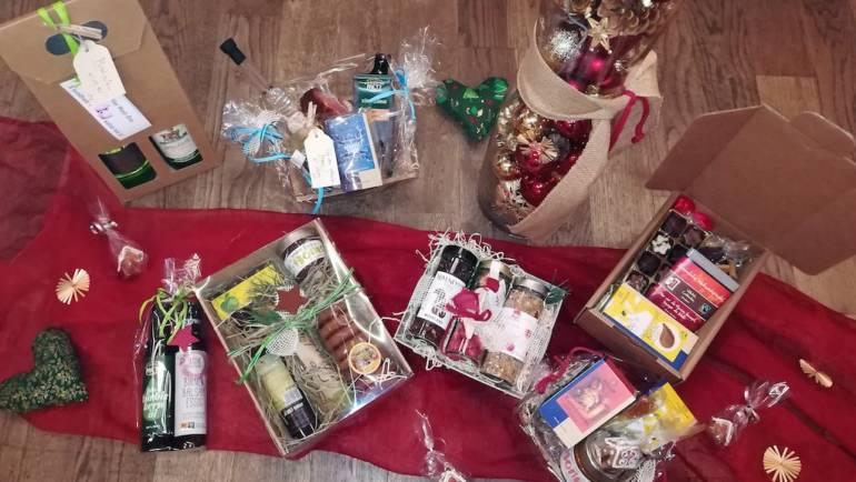 Regionales schenken zu Weihnachten